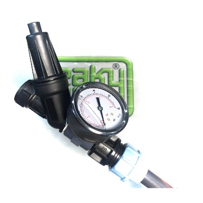 Pressure Regulator with Gauge & Compression Output Fitting