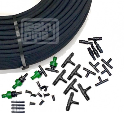 Garden Border Porous Hose Watering Kit  - 250m