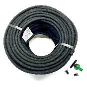 Don't buy the Cheapest, get reliable LeakyPipe® Porous Rubber Soaker Hose Kit - 50m