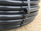 Roll of 20mm black polytube (LDPE)