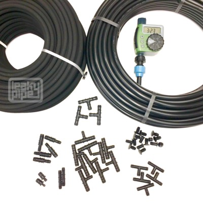 All-inclusive 100m Garden Hose Kit
