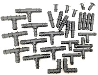 Large Selection Pack of Barbed Fittings
