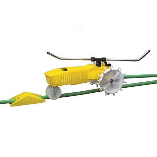 Self-Propelled Lawn Sprinkler.